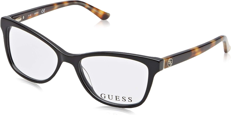 GuessGU2536, Cat Eye, acetate, women, BLACK HAVANA (001 F), 135