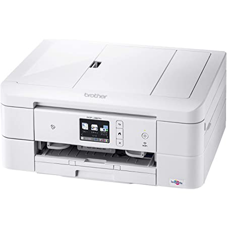 ブラザー プリンター A4インクジェット複合機 DCP-J987N-W (ホワイト/Wi-Fi対応/ADF/自動両面印刷/スマホ・タブレット接続/レーベル印刷/2020年モデル)