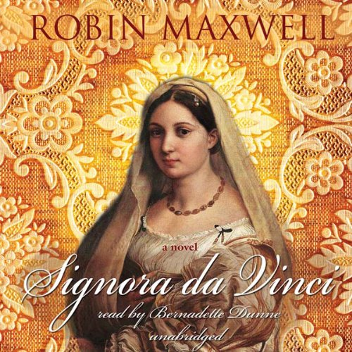 Signora da Vinci audiobook cover art