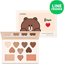 [Missha] Color Filter Shadow Palette (LINE FRIENDS Edition) No. 5 Shy Shy Brown - 15 g
