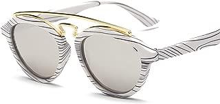 ladies sunglasses Trendy double beam sunglasses Unisex sunglasses