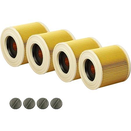 2x Filterpatrone für Kärcher WD 2 Home WD 3 A 2500 A 2504 K 2000 Verschluss