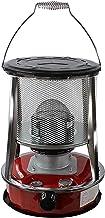 FLJYHJ Calentador de estufa de queroseno, para acampar en interiores, estufa portátil de acero inoxidable para calefacción, máximo 10000BTU/H, capacidad de aceite 4.6L/6L