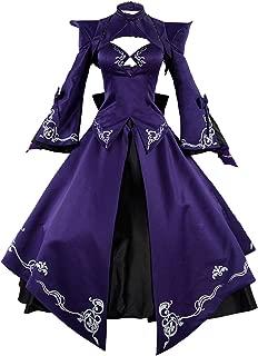 COSTHAT Fate/Stay Night FGO Dark Saber Alter Stage 3 Cosplay Costume FGO Arturia Dress
