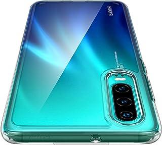 Spigen, Funda Compatible con Huawei P30 2019 [Ultra Hybrid] Tecnología de cojín de Aire y protección híbrida de la caída [Transparente] - L38CS25737