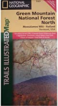 National Geographic Trails Illustrated - Green Mountain National Forest - North - VT