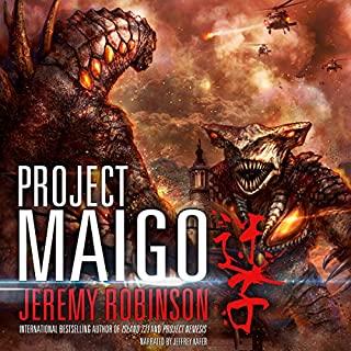 Project Maigo audiobook cover art