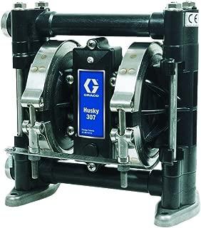 Graco Husky D31211 Acetal Double Diaphragm Pump, 3/8