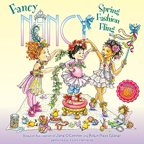 Fancy Nancy: Spring Fashion Fling audiobook cover art