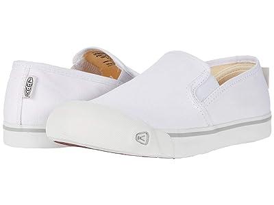 KEEN Coronado III Slip-On (White) Women