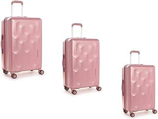 هيدجرين طقم حقائب سفر إيدج بعجلات, 3 قطع مع 4 عجلات, بلش - HEDG03N-510-01