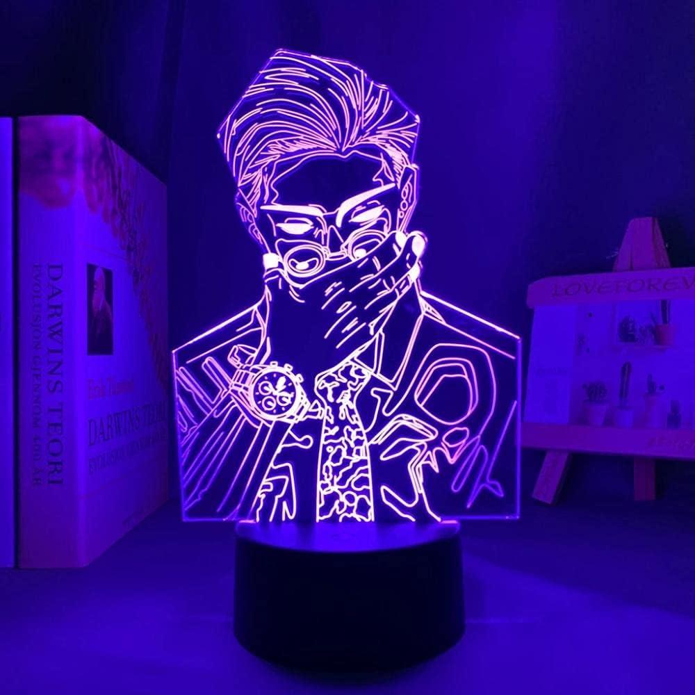Jujutsu Kaisen Japanese Anime Light Sign 16 LED 3D Lamp Max 81% OFF Illusion latest