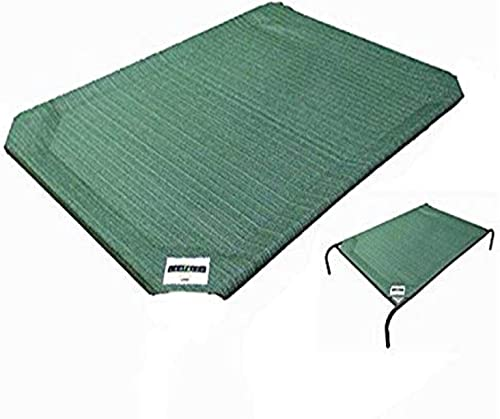 Coolaroo Replacement Pet Bed Cover, Cooling, Washable, Indoor or Outdoor Dog Bed or Cat Bed, Large (L) (LG), Brusnwic...