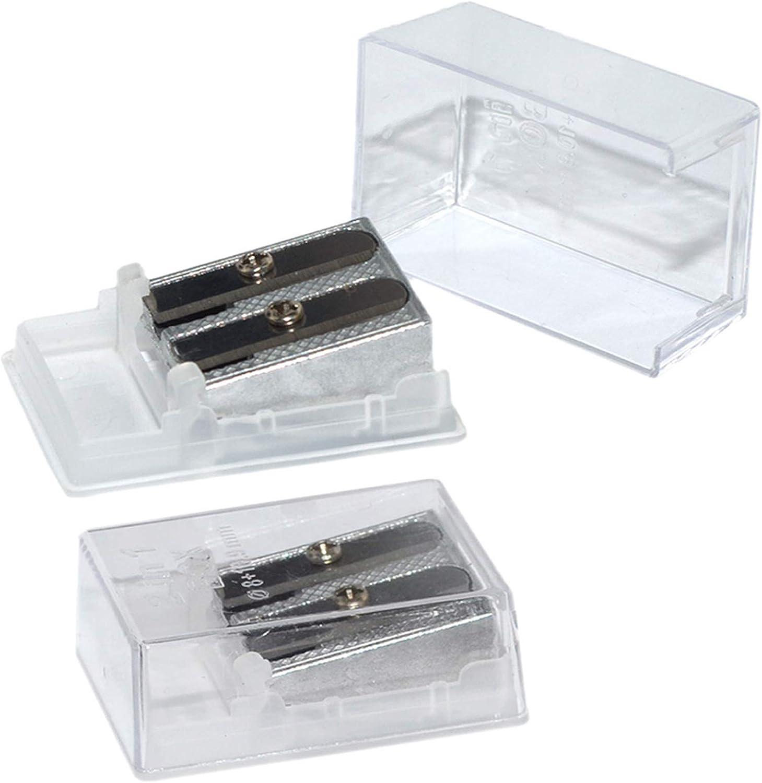 Wekoil Pencil Sharpeners shop Metal Dual Hole Double Sharpe Hand Held Super intense SALE