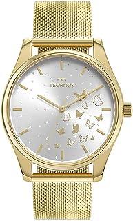 Relógio Technos Feminino Trend Dourado - 2036MNW/1K