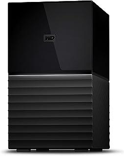 WD HDD 外付けハードディスク 16TB My Book Duo WDBFBE0160JBK-JESN USB3.1 Gen 1/RAID 0,1対応/3年保証
