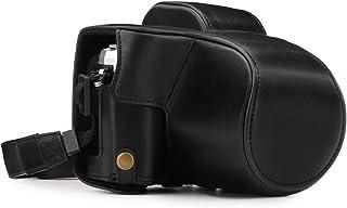 MegaGear MG1345 Estuche para cámara fotográfica - Funda (Funda Olympus OM-D E-M10 Mark III (14-42mm) Tirante para Hombro Negro)