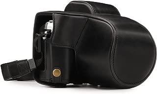 MegaGear MG1345 Olympus OM-D E-M10 Mark III (14-42mm) Deri Kamera Çant, Siyah