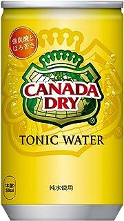 コカ・コーラ カナダドライ トニックウォーター 炭酸水 缶 160ml×30本