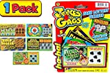 JA-RU Fake Lottery Ticket Scratch Tickets (5 Tickets / 1 Pack) Pranking Toys for Friend and Family Scratcher Jokes and Gag Winning Tickets Surprise. 1381-1B