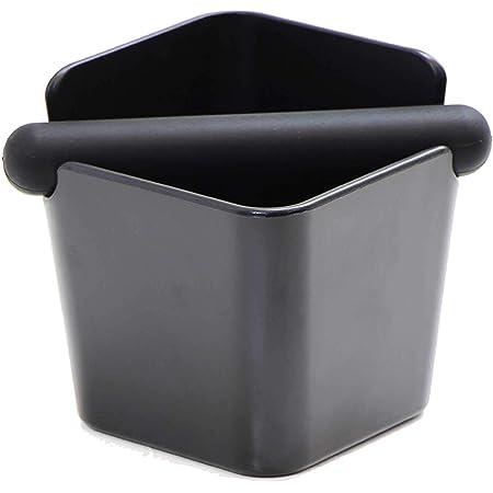 ノックボックス knock box ノックボックス エスプレッソ コーヒー ノックボックス エスプレッソ ノックボックス エスプレッソの必需品 抽出後の豆カスを手を汚さずに捨てれます 家庭用向きの小さなノックボックス ABS製四角型ノックボックス コーヒーかす専用のゴミ箱