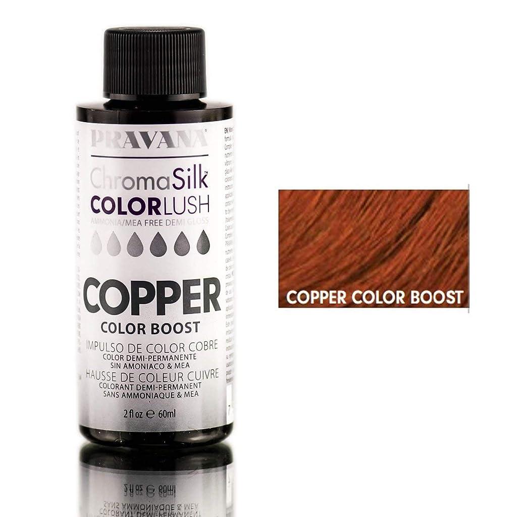 賢明な通行人過剰Pravana ChromaSilk ColorLushカラーブースト - 銅/ 2オンス