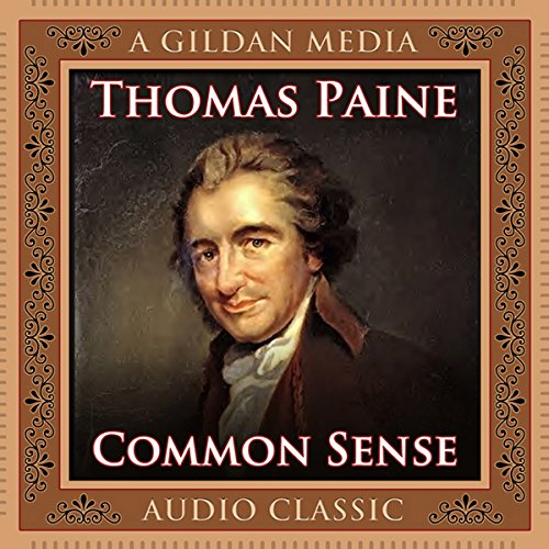 Common Sense audiobook cover art