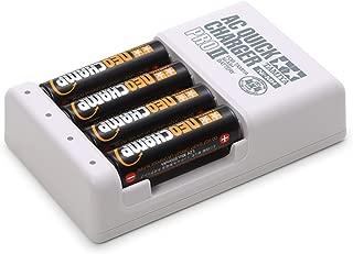 タミヤ バッテリー & 充電器シリーズ No.116 単3形ニッケル水素充電池ネオチャンプ (4本) と急速充電器II 55116