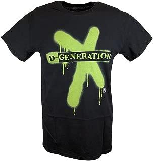 WWE DX D-Generation X Splatter Logo Mens T-Shirt