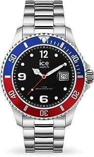 Ice-Watch - Ice Steel United Silver - Montre Argent pour Homme avec Bracelet en Metal - 017330 (Extra Large)