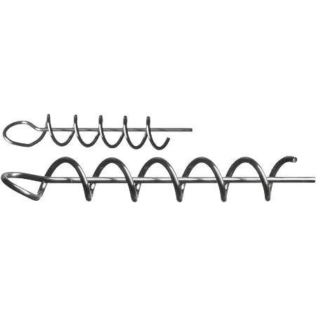 Spiraladapter f/ür Gummik/öder Westin Pro Shallow Screw 5 Spiralen 4,7cm f/ür Gummifische Korkenzieher f/ür Gummifisch