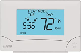 LuxPRO PSP711TS Touch Screen 7-Day Deluxe Programmable Thermostat