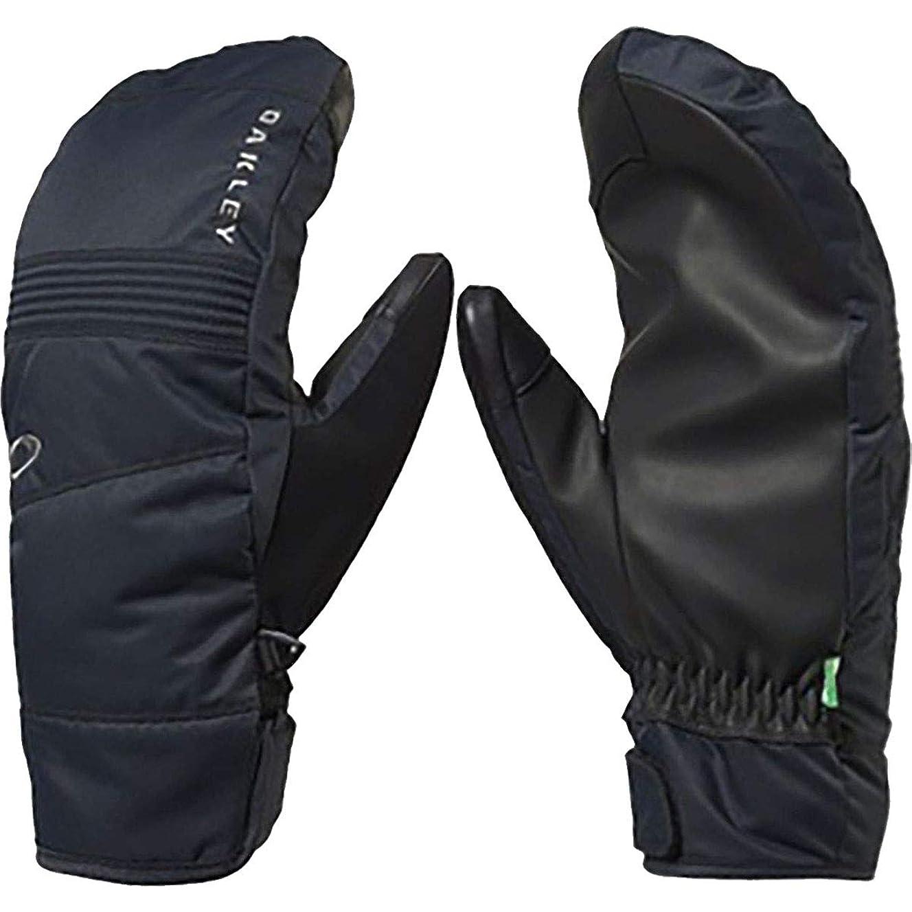 Oakley Roundhouse 2.5 Men's Snowboarding Mitten Gloves - Blackout/Large