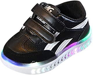 Kids LED Light Up Shoes LED Luminous Shoes for Baby Girls Boys Sport Running Flashing Sneakers Shoes