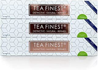 TeaFinest Green Tea Capsule Pods - Not coffee bean but organic tea leaf in Nespresso Original Line compatible capsules. High catechins and low caffeine extract of pure tea flavonols brews