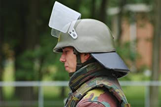 Posterazzi The helmet and visor used Poster Print by the Belgian Army during riot and crowd control (33 x 22)