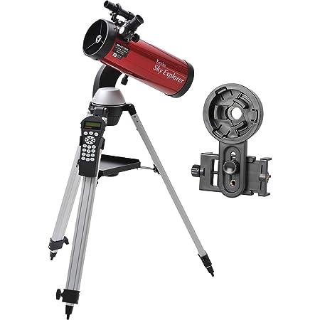 Kenko 天体望遠鏡 スマホで星を撮ろうセット Sky Explorer SE-GT100N2-SA 反射式 口径100mm 焦点距離450mm 自動導入機能付 110904