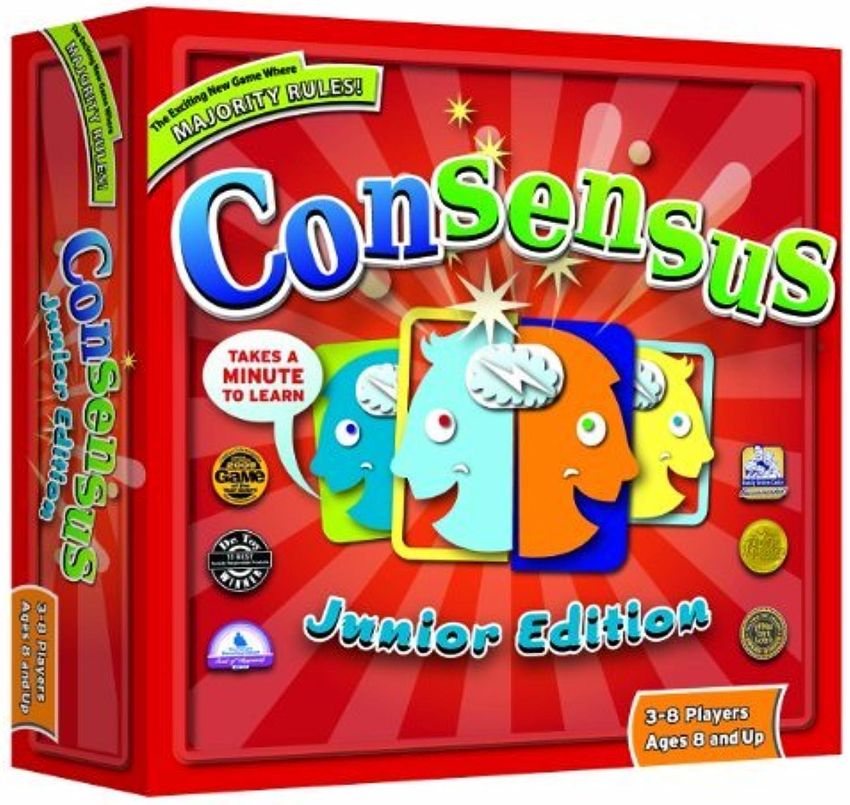Consensus Game (Junior Edition) by Mindlogic B01C6N6LLK Verrückter Preis | Mittlere Kosten