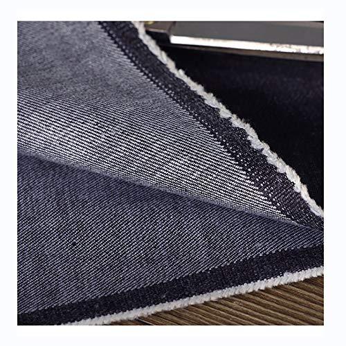 Tela Vaquera Azul Marino Material de Los Pantalones Cortos de La Chaqueta de Los Pantalones Vaqueros Labor de Retazos Costura de Ropa 150 cm de Ancho, Vendido por Metro
