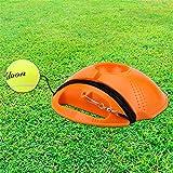 Tenis Trainer Rebounder Bola, Cementado De La Placa Base con La Cuerda Solas Equipo De Ayudas A La Formación Servir Hopper Base