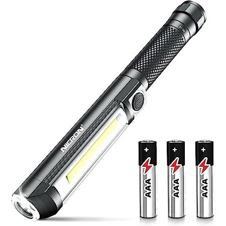 """Multifunctional COB LED Mini Pen Light Work Inspection 1/"""" Taschenlamp E5R9"""