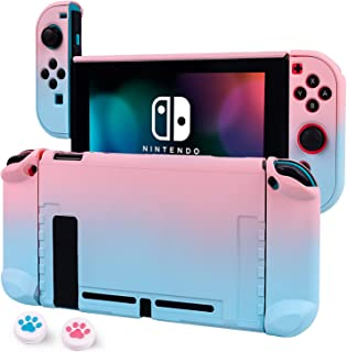 Cybcamo Protective Case Cover for Nintendo Switch, Hard Shell Case Handheld Grip for Nintendo Switch Console and Joy-Con C...