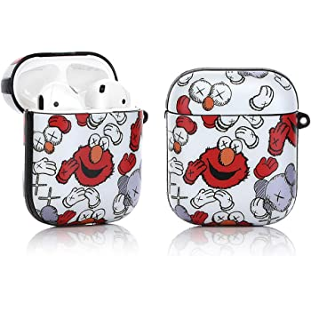 Elmo Apple AirPods Case Premium Cover fits 1st /& 2nd Generation AirPods Charging Case