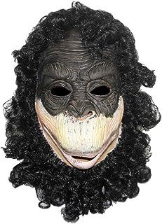Gorilla Headgear Latex Animal Mask Hair Monkey Halloween Props Halloween mask