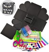 Eliteguard DIY Exploding Gift Box Scrapbook Photo Album with DIY Accessories Kit Birthday Valentine's Day Romantic 214 (Box Kits)