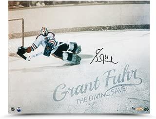 GRANT FUHR Autographed