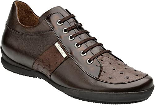 Franco Cuadra Calf and Ostrich Leather chaussures for Hommes