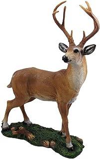 Dollhouse Miniature Resin Male Buck Deer Reindeer Animal Figurine