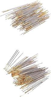 MagiDeal 200Pcs/lot Large Eye Embroidery Fabric Cross Stitch Needles Craft Size 24 26