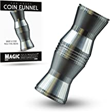 Magic Makers Crazy Coin Funnel Trick - Make A Coin Pass Through Metal